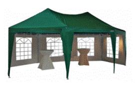 Groene pagode tent